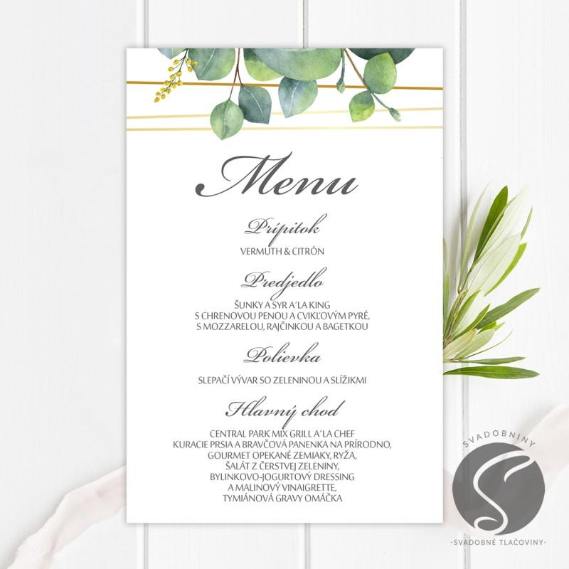 Svadobné menu - SM067