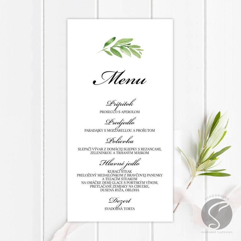 Svadobné menu - SM080
