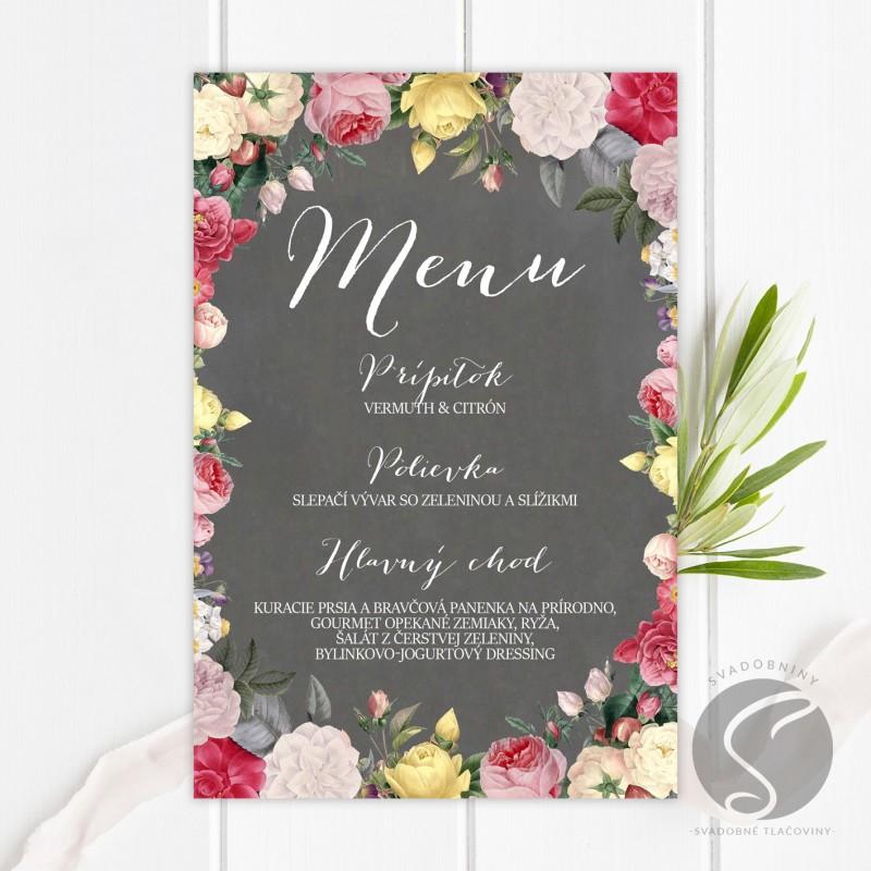 Svadobné menu - SM083
