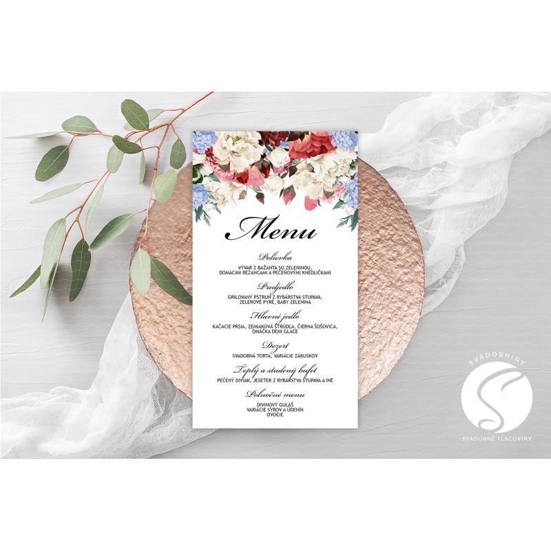 Svadobné menu - SM065