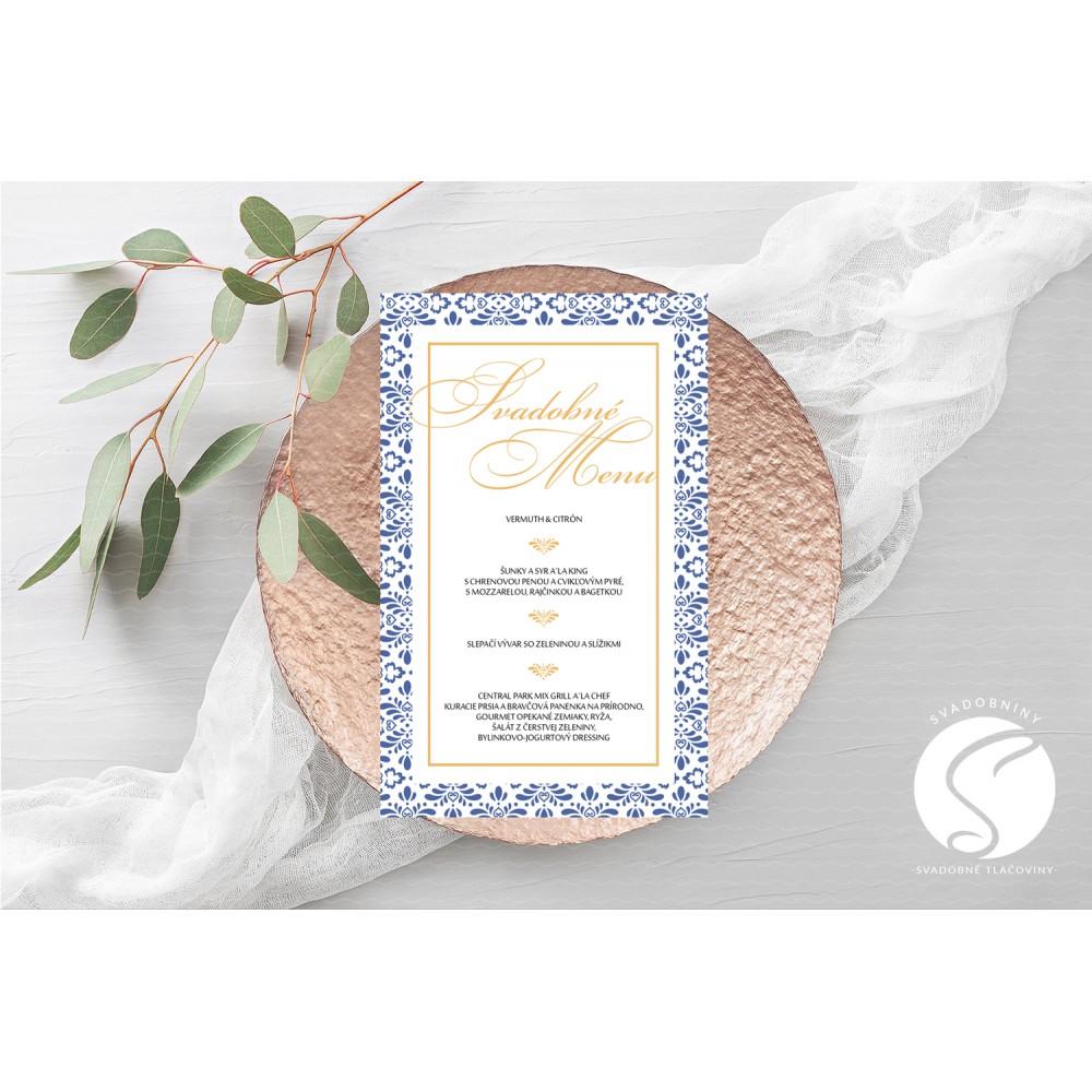 Svadobné menu - SM092