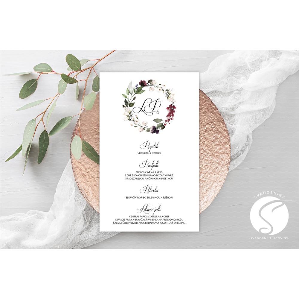 Svadobné menu - SM097