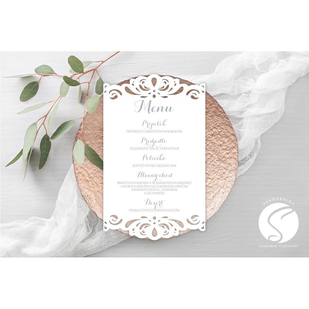 Svadobné menu - SMV001